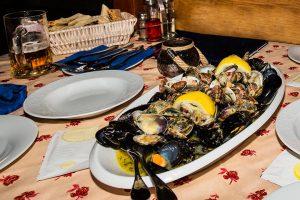 Gastronomie na Korčule