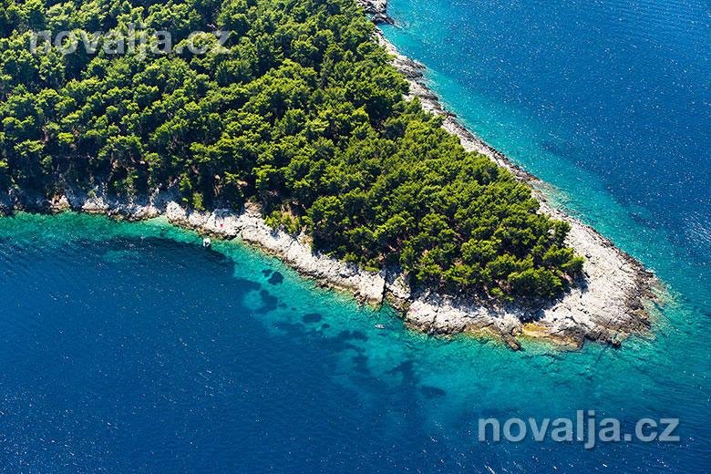 Ostrov Ošjak, Korčula