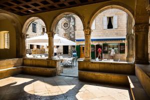 Náměstí ve starém městě, ostrov Korčula