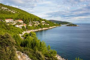 Prižba, ostrov Korčula, Chorvatsko