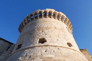 Korčula, staré město - věž