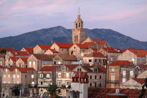 Korčula staré město