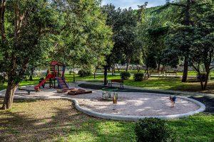 Městský park, Blato